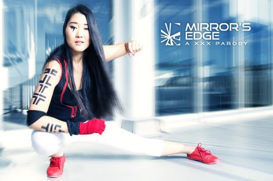 vrcosplayx: Katana - Mirror's Edge A XXX Parody [VR Porn] (2K UHD/1440p/3.43 GB) 22.10.2017