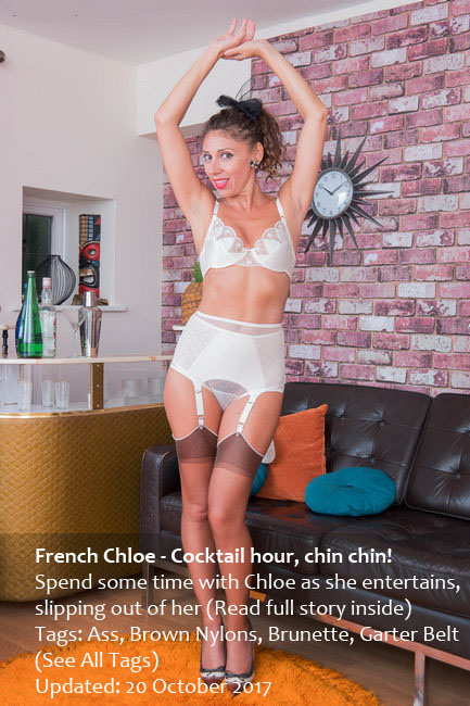 VintageFlash: French Chloe - Cocktail hour, chin chin! (FullHD/1080p/1.17 GB) 21.10.2017