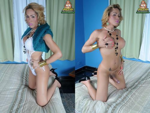 Anna Karla Lozz- Anna Karla Lozz Strips And Strokes! Remastered [FullHD, 1080p] [Brazilian-Transsexuals.com]