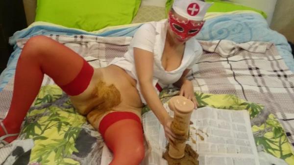 The nurses pussy is full of shit - Scat (FullHD, 1080p)