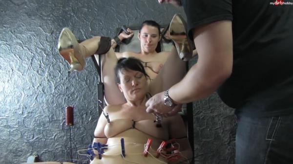 RealesFetishPaar - Extrem Kabelbinder Girl Girl 2 (HD, 720p)