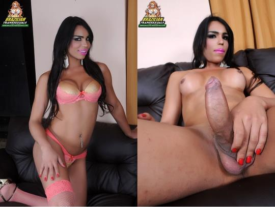 Brazilian-Transsexuals: Rayla Rios / New Starlet Rayla Rios Remastered (FullHD/1080p/889 MB) 07.10.2017