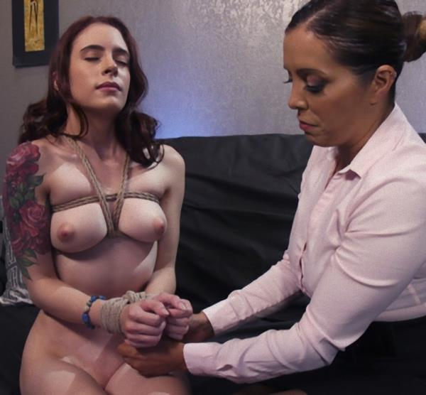 EveryThingButt/Kink - Anna De Ville, Francesca Le - Anal Bondage to Cure Claustrophobia [HD 720p]