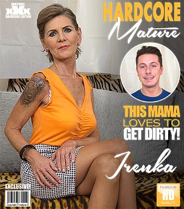 Mature.nl / Mature.eu - Irenka S. (58) - horny housewife Irenka doing her toyboy [FullHD, 1080p]