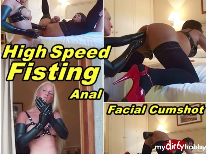 MyDirtyHobby/MDH: TVLadyJenny - High Speed Fisting Anal Facial Cumshot - 08.10.2017 - [FullHD 1080p] - (German)