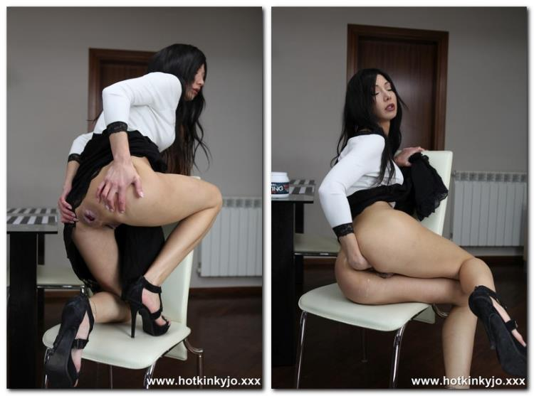 White and black anal fisting [Hotkinkyjo / FullHD]