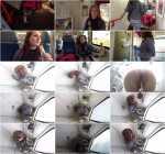 Anna Louckova - Catching the train [HD, 720p] [PeeInDetail.com]