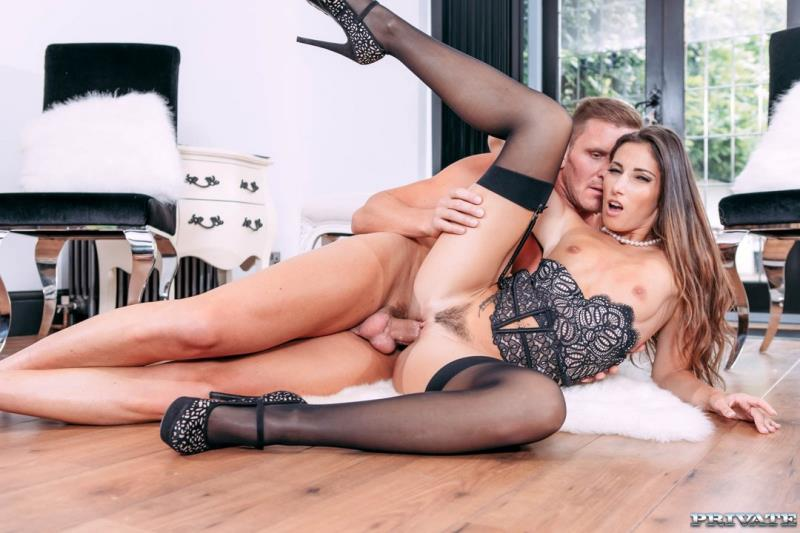 PrivateStars.com / Private.com: Clea Gaultier - Clea Gaultier, top model fucks in sexy lingerie [HD] (402 MB)