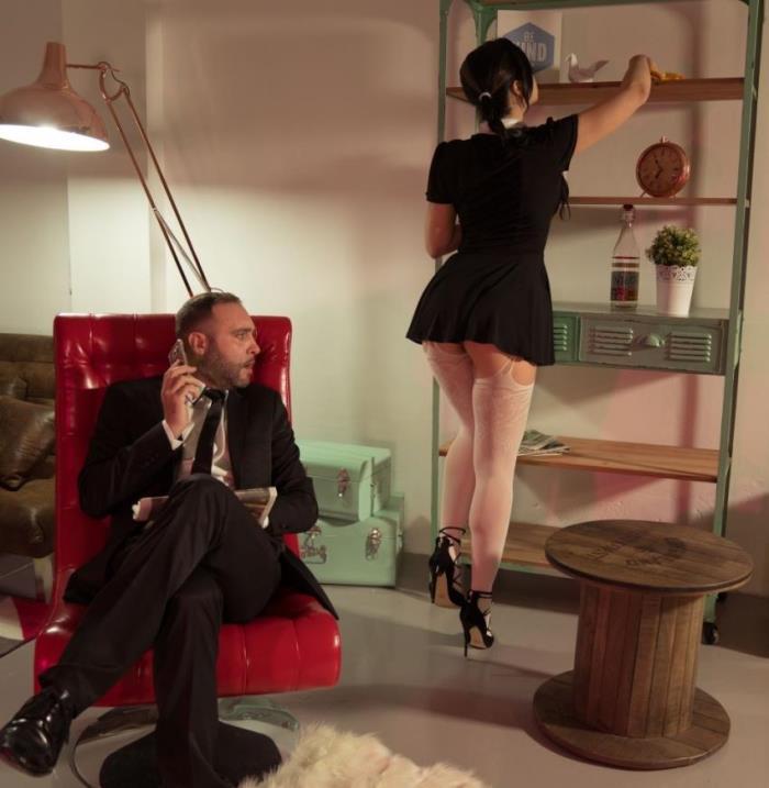 Taissia Shanti - Stunning Russian maid Taissia Shanti sucks and fucks hard Spanish cock (2017 / XXXShades/PornDoePremium)  [HD / 720p/ 398.56 Mb]