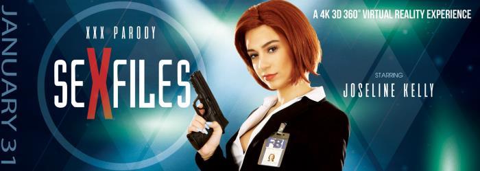 VRbangers.com - Joseline Kelly - Sex Files [3D, VR, 4K UHD, 3840p]