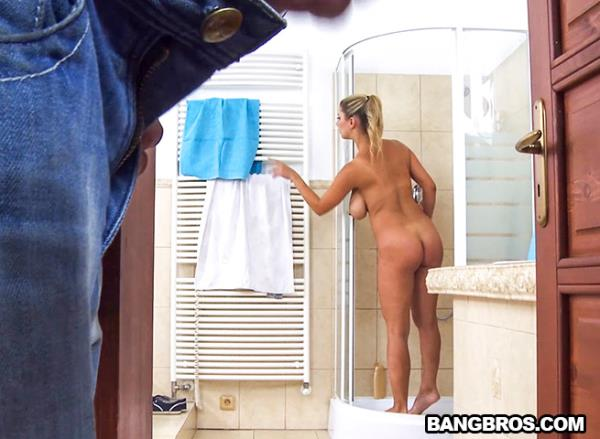 BigTitsRoundAsses, BangBros - Katarina Hartlova - Big Tits and A Creampie For You [SD, 480p]