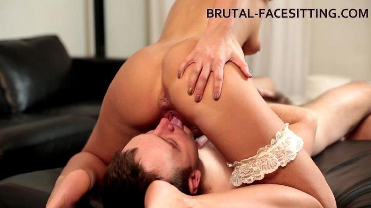 Forced lick pussy and ass [Brutal-Facesitting / FullHD]
