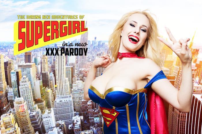 vrcosplayx.com - Angel Wicky - Supergirl A XXX Parody [3D, VR, 2K UHD, 1440p]