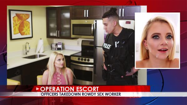 Riley Star - Officers Takedown Rowdy Sex Worker [SD 480p]