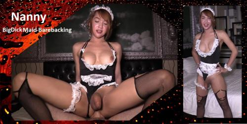 Nanny - Big Dick Maid Barebacking [HD, 720p] [LadyboysFuckedBareback.com]