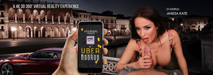 VRbangers.com - Anissa Kate - My Uber Hookup [3D, VR, 4K UHD, 3840p]