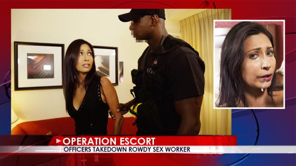 OperationEscort - Jade Jantzen - Teen Arrested In Prostitution Sting [SD, 480p]