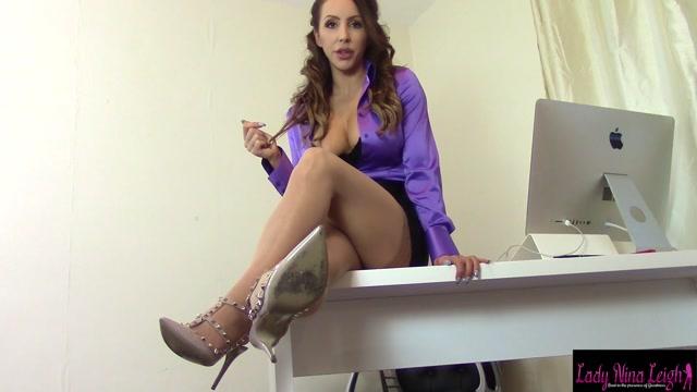Lady Nina Leigh: - - You Will Learn [FullHD 1080p] (379.27 Mb)