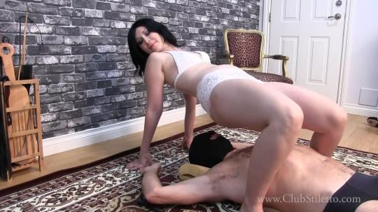 Clubstiletto, Clips4sale: Princess Lily - This Is Good Practise For You To Be My Human Furn (FullHD/1080p/496 MB) 12.10.2017