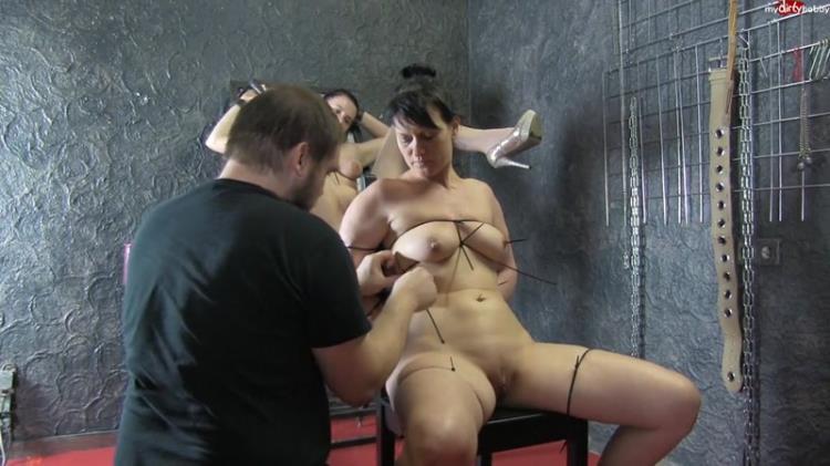 RealesFetishPaar - Extrem Kabelbinder Girl Girl 1 [MDH, PA / HD]