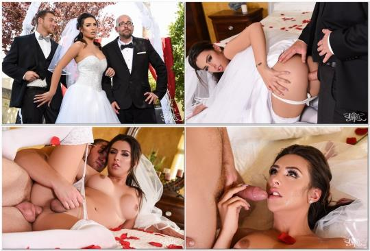 TransAngels: Chanel Santini & Connor Maguire - Here Cums the Bride (FullHD/1080p/1.11 GB) 18.10.2017