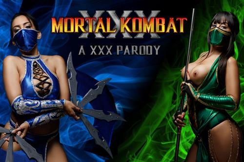 Katrina Moreno, Alba De Silva - MORTAL KOMBAT XXX PARODY (18.10.2017/vrcosplayx.com/3D/VR/2K UHD/1440p)