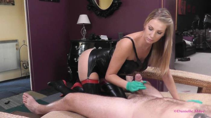 Danielle Maye XXX - Latex glove oiled HJ (Clips4sale) HD 720p