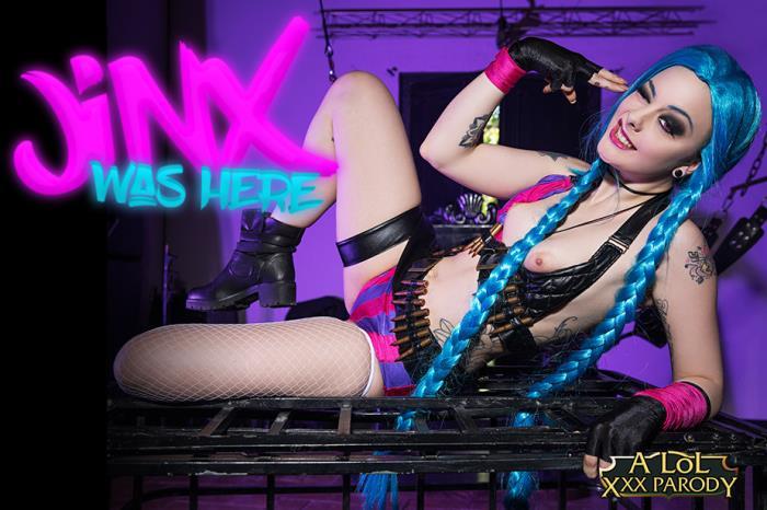 vrcosplayx.com - Alessa Savage - LOL: Jinx A XXX Parody [3D, VR, 2K UHD, 1440p]