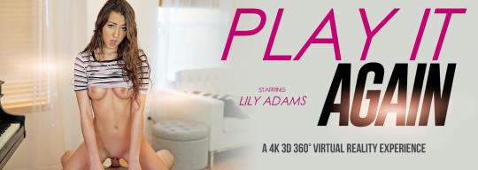 VRbangers: Lily Adams - Play it Again [VR Porn] (HD/960p/2.10 GB) 22.10.2017