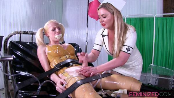 Lexi Sindel & Juliette Stray - Plastic Fuck Doll - Feminized.com/Clips4sale.com (FullHD, 1080p)