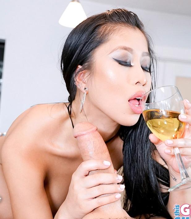 ThisGirlSucks/TeamSkeet - Jade Kush - The Sloppy Blowjob (Asia)  [SD / 540p / 517.29 Mb]