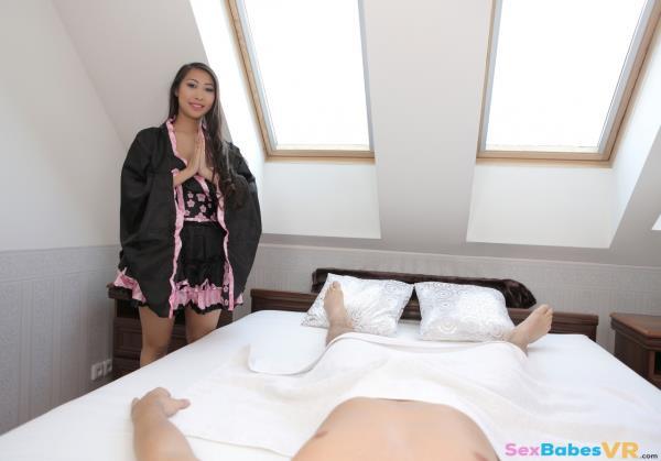 SexBabesVR - Sharon Lee - Asian Massage [3D, 2K UHD, 1440p]
