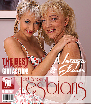 Eleanor (69), Natasja (26) (2 old and young lesbians playing with eachother) (30/09/2017) [Mature.eu, Mature.nl / FullHD]