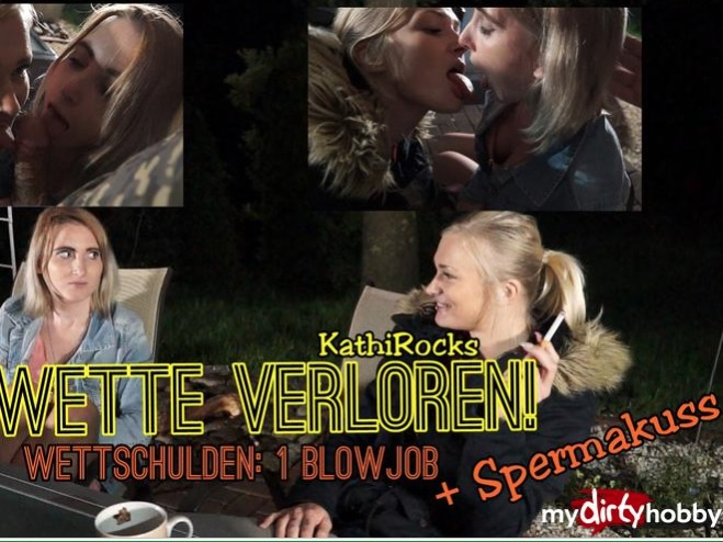 MyDirtyHobby/MDH - - KathiRocks - Blowjob an einen Wildfremden - Wette verloren - BLOWJOB to a lost bet - [FullHD 1080p]