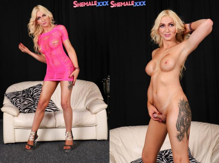 Paris - Hot Blonde Paris! (SheMale) FullHD 1080p
