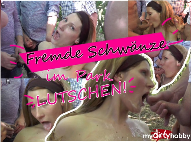 MyDirtyHobby - Bitchynikki - Bitchynikki lutscht einer Horde von fremden Manner die Schwanze  Bitchynikki sucks a bunch of strangers cocks [HD 720p]