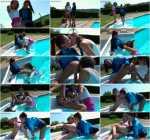 Emylia Argan & Paula Shy - Rimming At The Rim Of The Pool! Wetlook Lesbos Love That Ass! - LezBoxx.com / SinDrive.com (FullHD, 1080p)