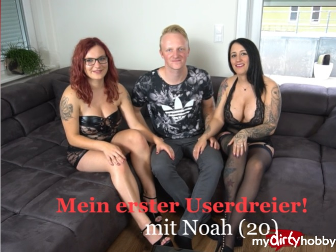 MyDirtyHobby: JennyJoy - Mein erster Userdreier  Mit Noah (20)  My first User Dreier! With Noah (20)  [HD 720p] (72.09 Mb)