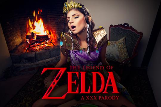 vrcosplayx: Gina Gerson - The Legend of Zelda a XXX Parody (2K UHD/1920p/4.99 GB) 18.10.2017