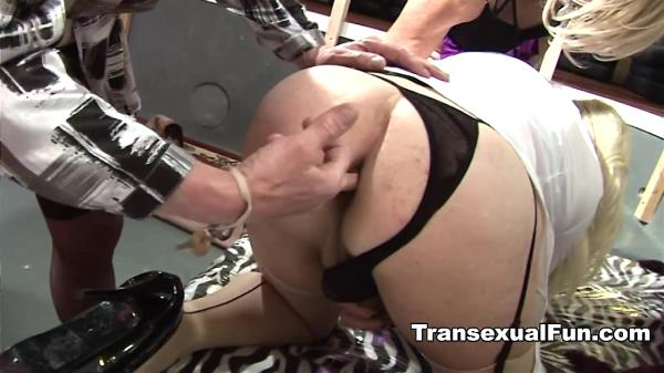 Christina T-Girl - Tranny Christina and Swingers [HD 720p]