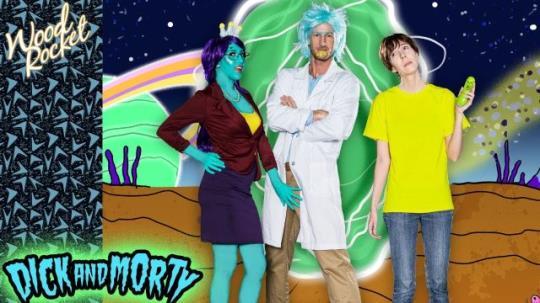 "WoodRocket: April O'Neil - Rick And Morty Porn Parody: ""Dick And Morty"" (HD/720p/172 MB) 19.10.2017"