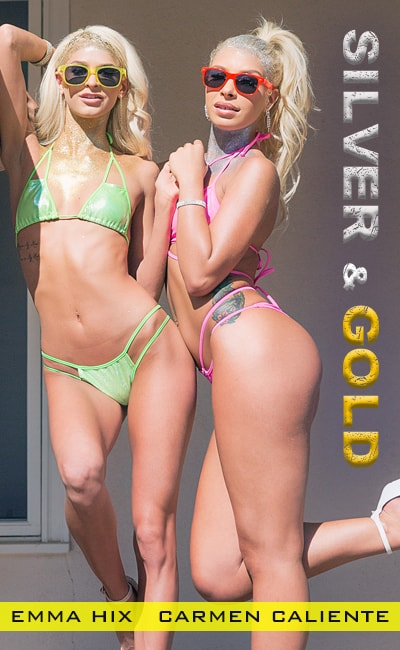 Carmen Caliente, Emma Hix - SILVER & GOLD [FullHD 1080p]