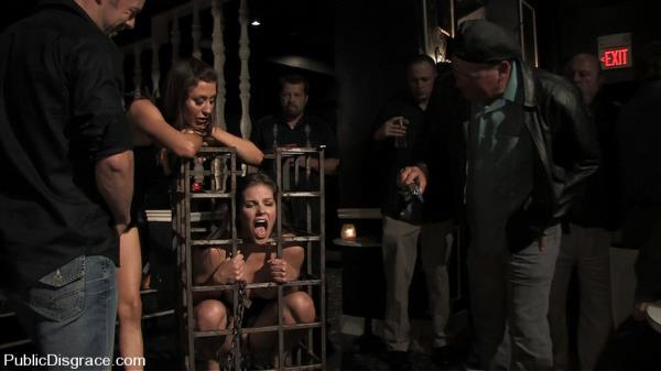 Bobbi Starr & Princess Donna - Bobbi Starr returns to Public Disgrace [HD 720p]