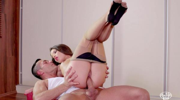 Anita Bellini - Hot sex and cum in mouth for seductive Hungarian pinup babe Anita Bellini - PinupSex.com / PornDoePremium.com (SD, 240p)