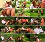 Rachel Evans, Kitty Jane - Dildos, Tongues On Clits, And Plenty Of Piss (HD 720p)
