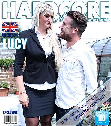 (Blowjob / MP4) Lucy B. (EU) (31) - British horny housewife fucking and sucking Mature.nl / Mature.eu - FullHD 1080p