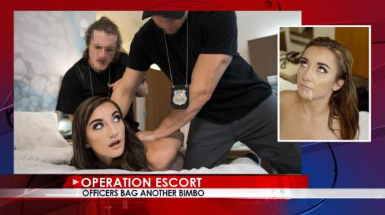 OperationEscort: Jade Amber - Officers Bag Another Bimbo (SD/480p/600 MB) 17.10.2017