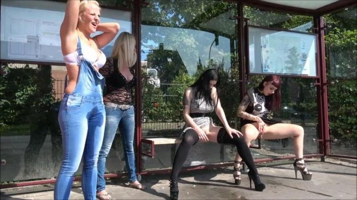 MDH - Alissa-Noir - Blondes vs. Brunettes - Who pees better [HD, 720p]