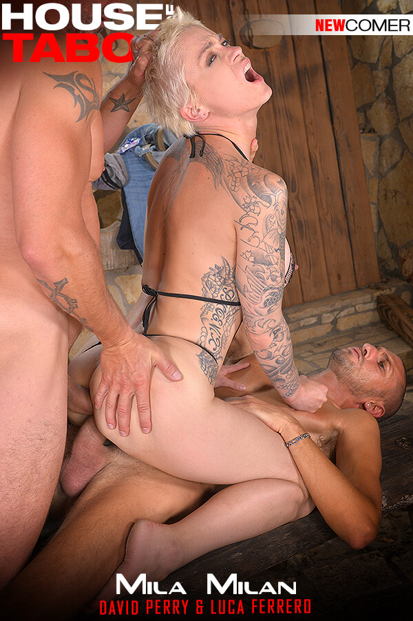 HouseOfTaboo.com / DDFNetwork.com: Mila Milan - Kinky Backdoor Drillers [SD] (1.05 GB)