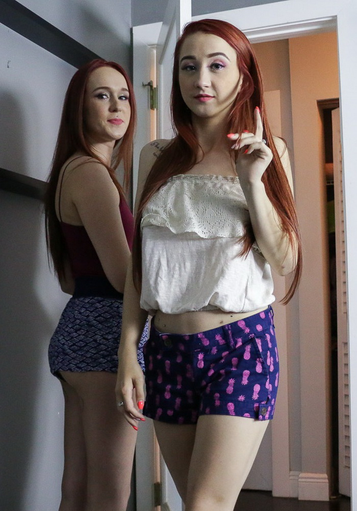 Alice Coxxx, Kat Hunter - SISTERLY LOVE (SisLovesMe) SD 360p
